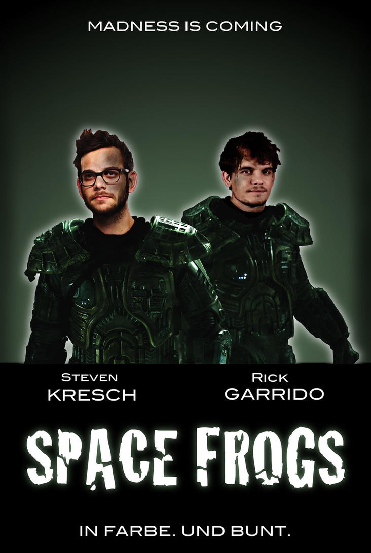 space frogs by OlaNaTungee