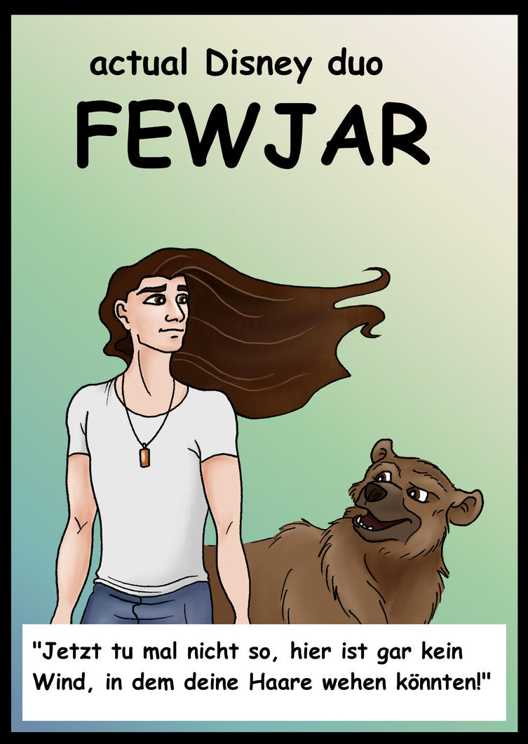 actual Disney duo FEWJAR by OlaNaTungee