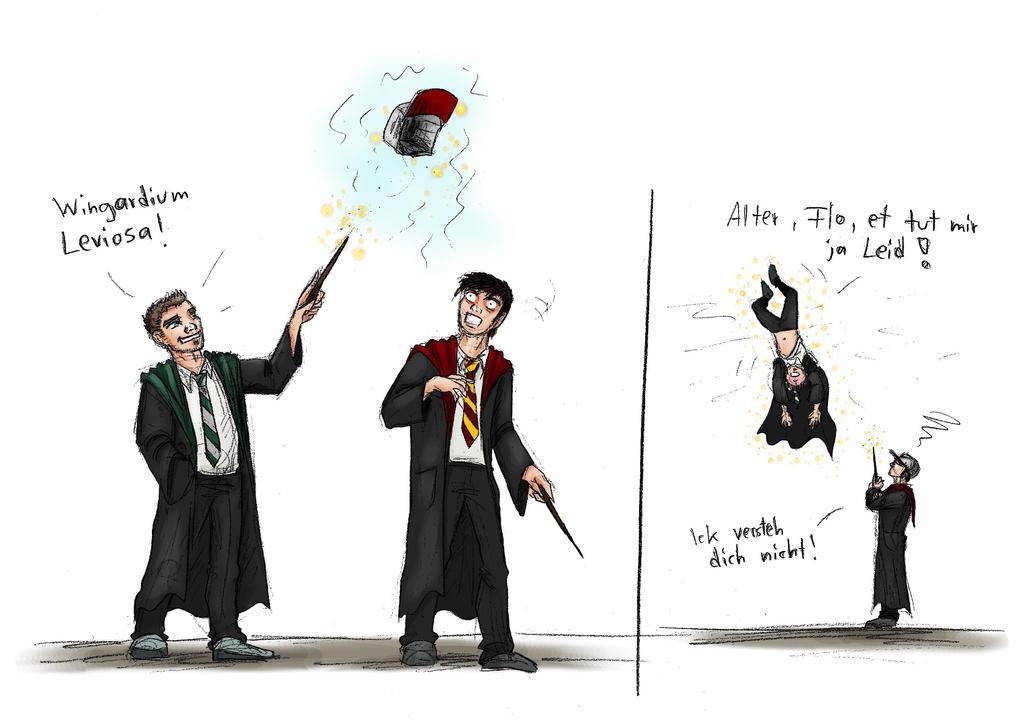 Doktor Froid-Hogwarts-Mashup by OlaNaTungee
