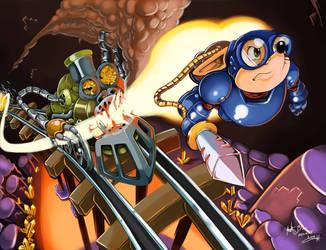 Rocket Knight Adventures by neokat