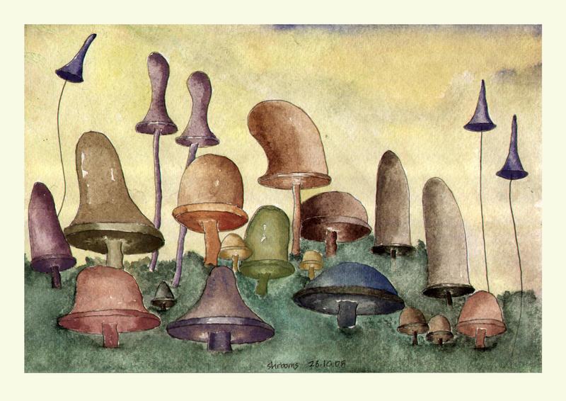 shrooms by mustafamortas