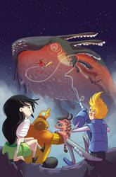 Bravest Warriors #11 Variant Cover by AbelPhee