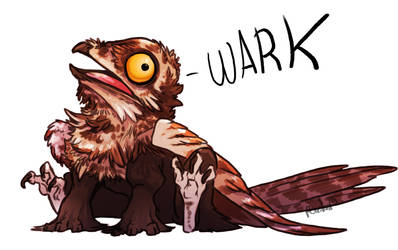 Potoo Gryphon by AbelPhee