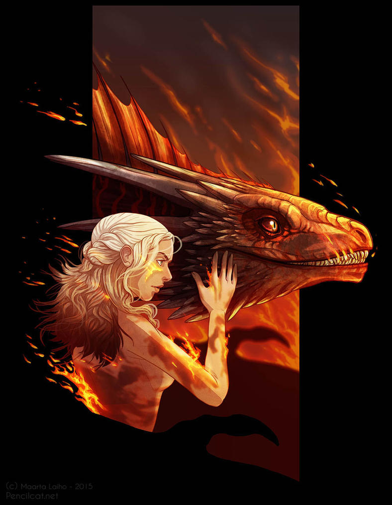 Fire Cannot Kill A Dragon by AbelPhee