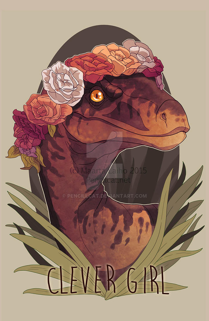 Clever Girl by AbelPhee
