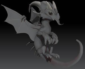 Zbrush Fire Dragon - WIP