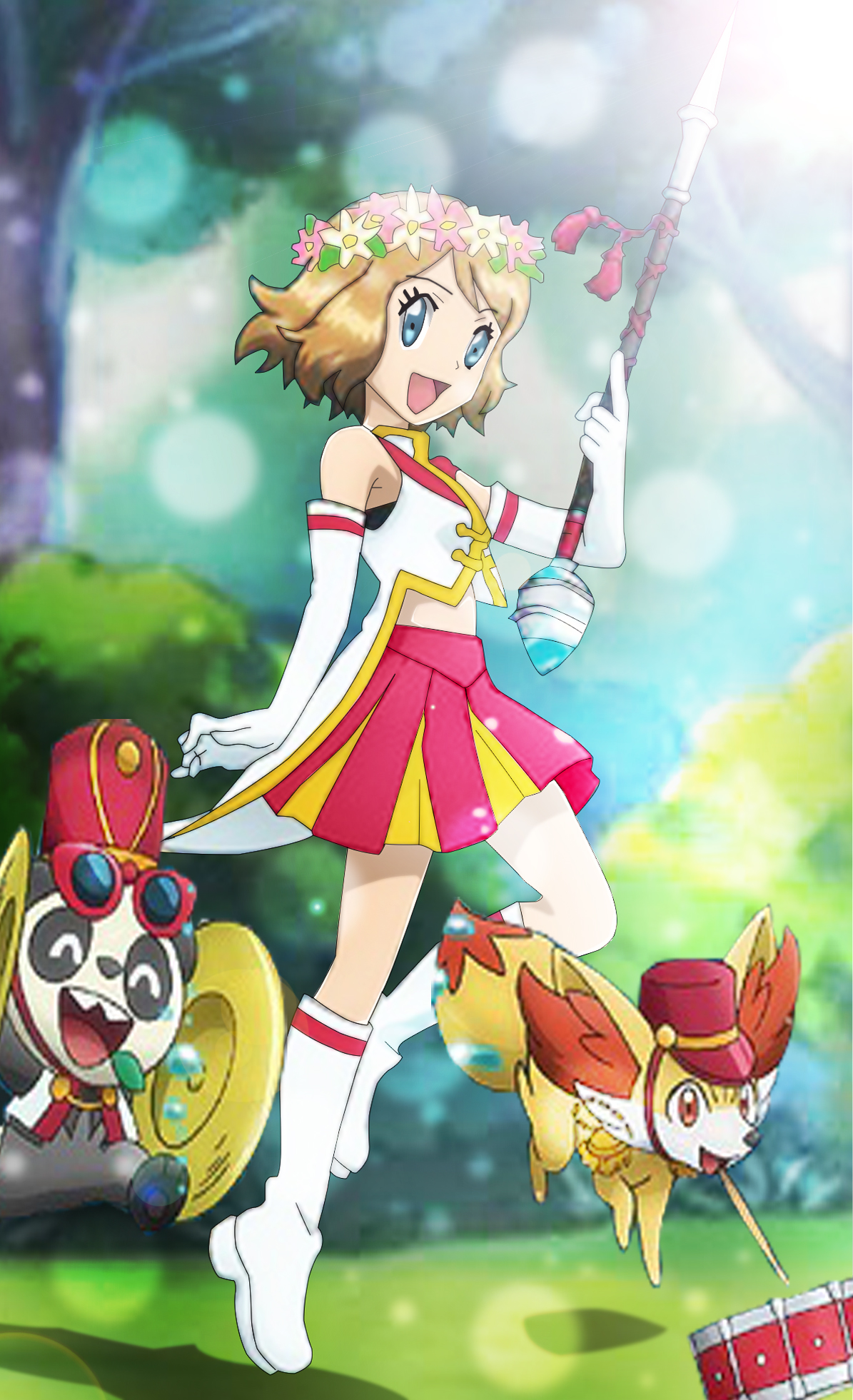 Pokemon Xy Serena Wallpaper 631075230