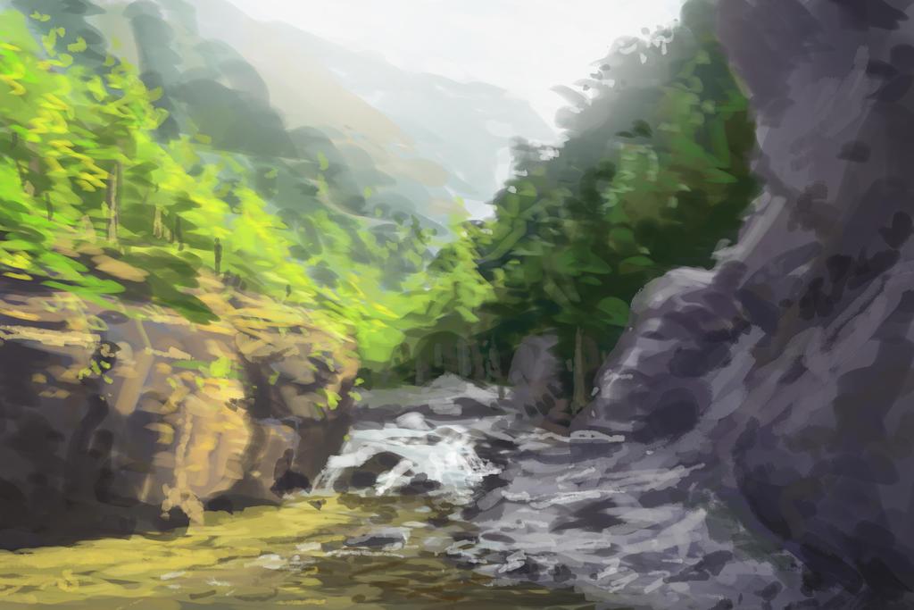 Landscape study by royshtoyer