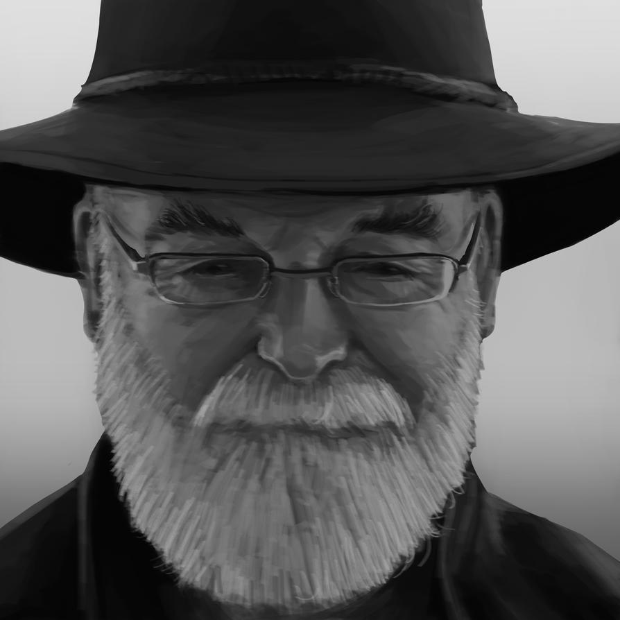 Mr.Pratchett by royshtoyer