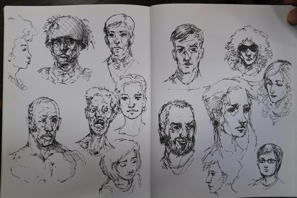 Bunch O faces by royshtoyer