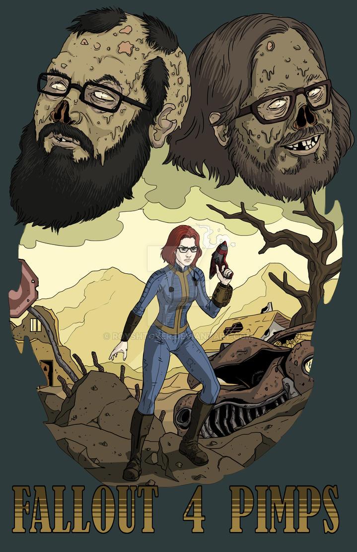 Fallout 4 Pimps by royshtoyer