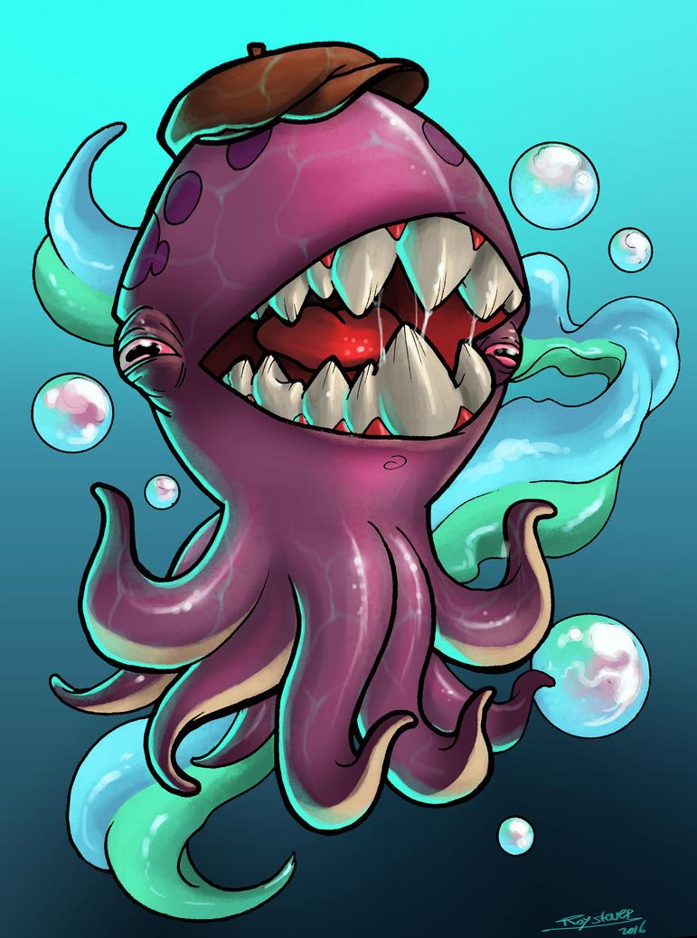 Squido by royshtoyer