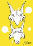 Ilustra - Fox and Wolf