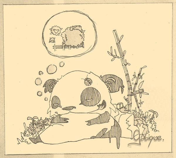 Sleeper Panda Inks