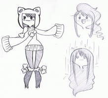 Adventure Time OC by JennaViva