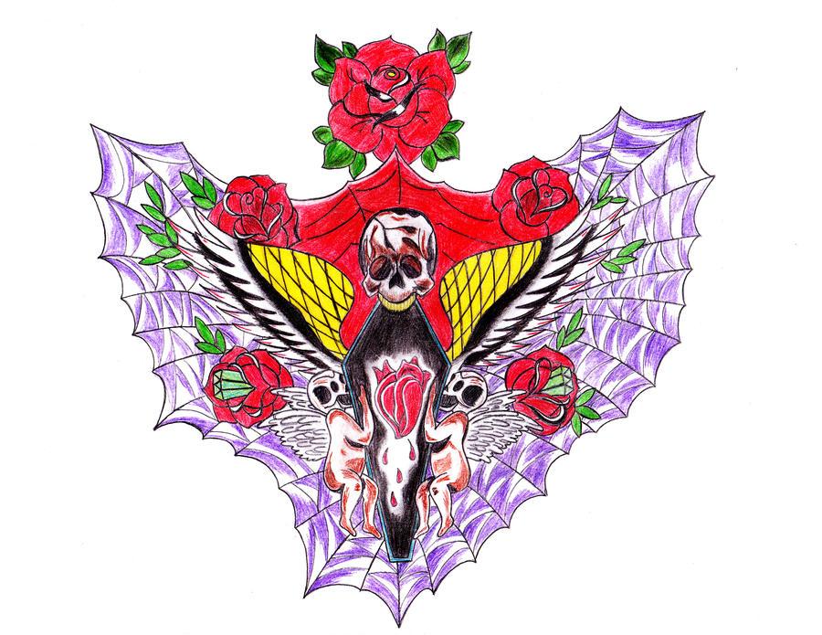 Oli Sykes S Tattoo By Karcoolkaaa On Deviantart