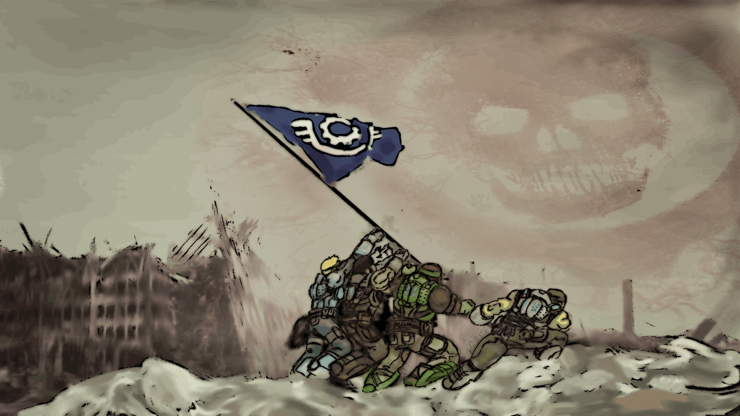 Gears Tribute by MaQuintus