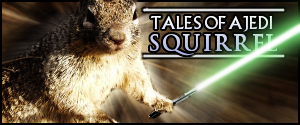 Jedi Squirrel by LDS-Jedi