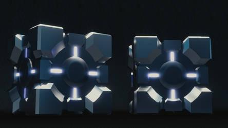 Companion Cube Test by LDS-Jedi