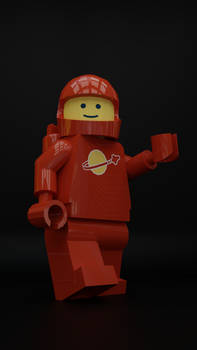Classic Space in Red