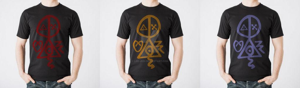 Satanic Logo Shirt Mock Up