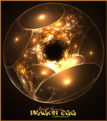 Copper Dragon Egg by LDS-Jedi