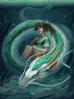 Spirited Away by Nilfea