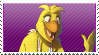 Chica the chicken Stamp by FazbearM