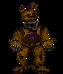 Nightmare Fredbear render (FNAF - SFM)