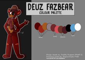 Deuz Fazbear Colour Palette
