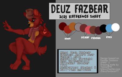 Deuz Fazbear 2021 Reference Sheet