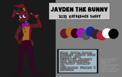 Jayden the bunny 2021 Reference Sheet