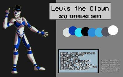 Lewis the clown 2021 Reference Sheet