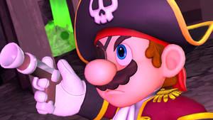 Pirate Mario by quasyj