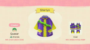 Animal Crossing Custom Outfit 2  Starlyn