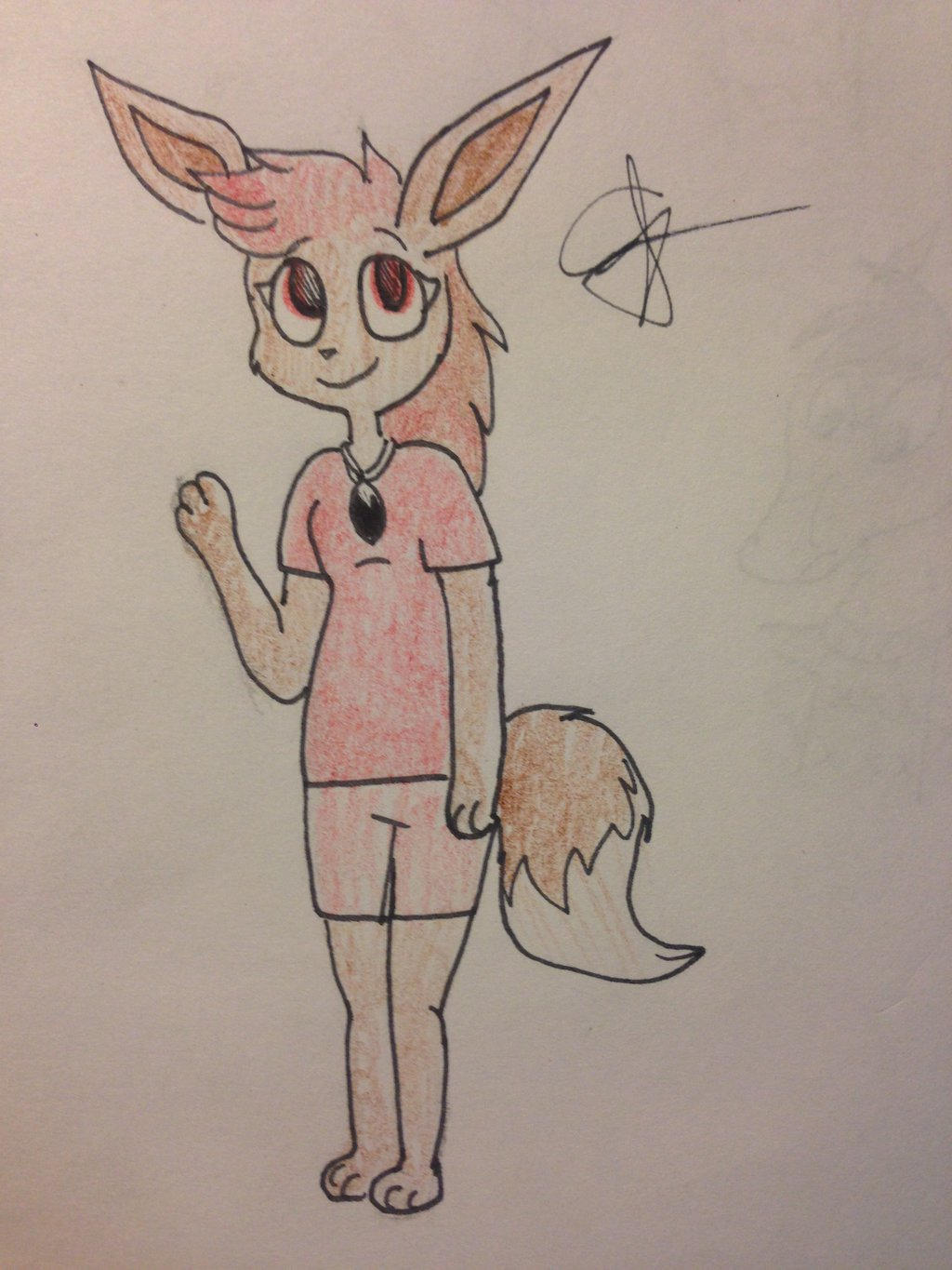 Art Trade with THEONEANDONLYFOXY32 #3 by ThePurpleGriffin