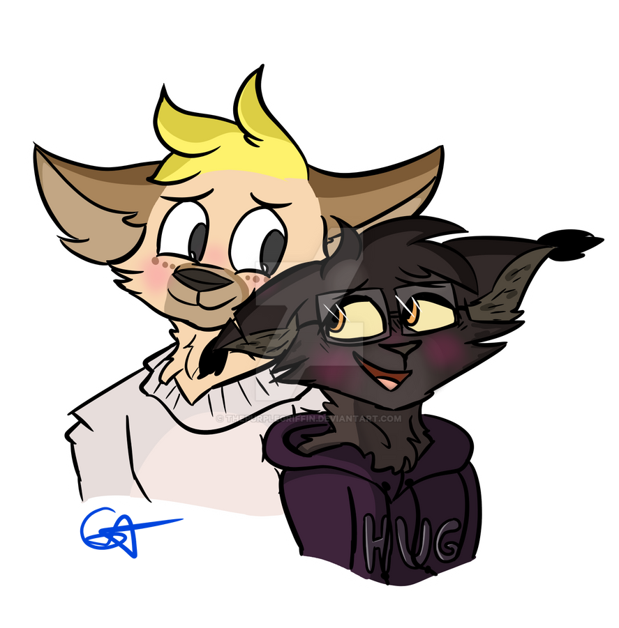 Love Is All / / / Commission for @redshiftinq! by ThePurpleGriffin