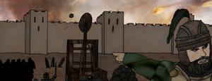 Comic Ancient  Siege