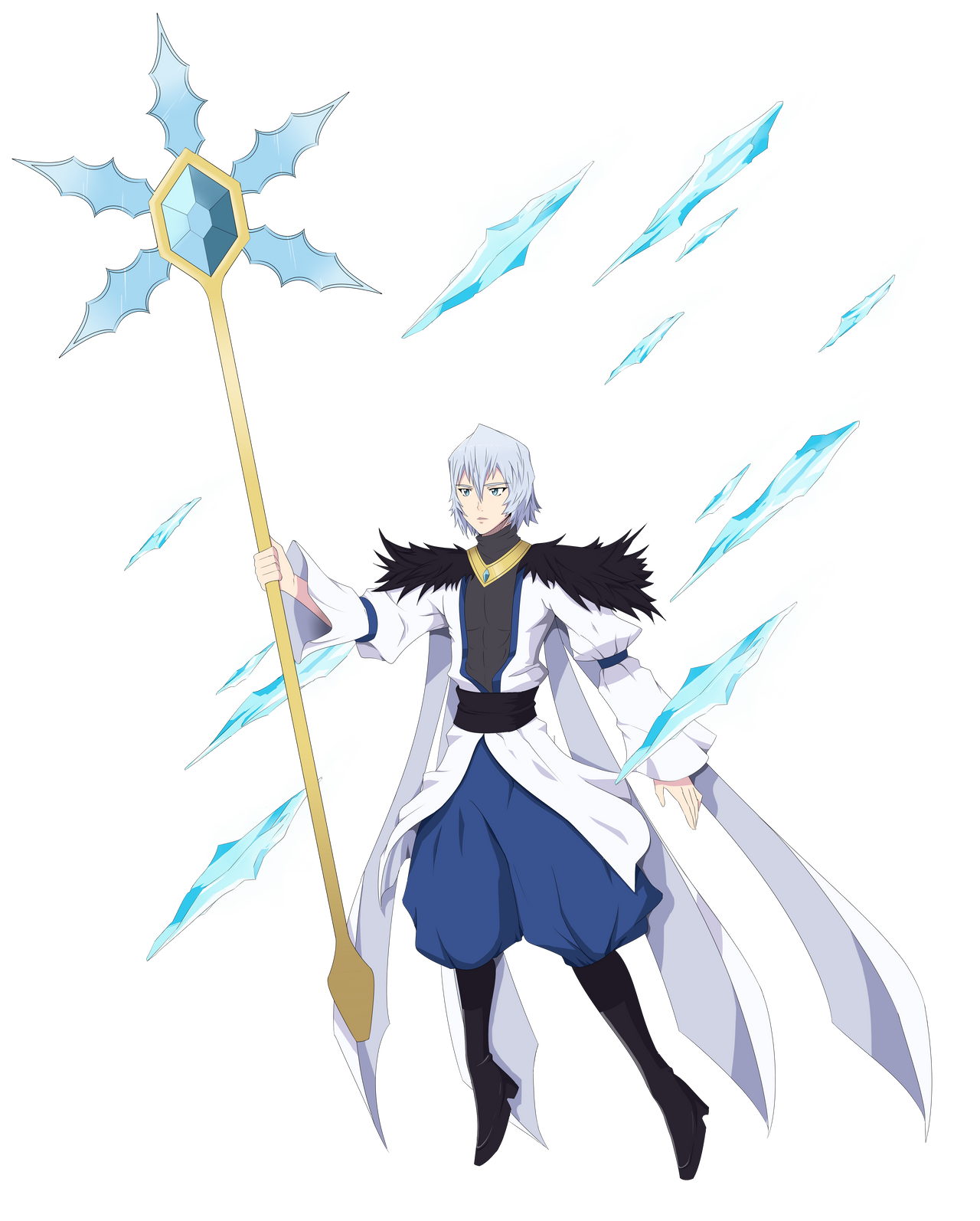 Anime Ice Mage Ice mage vilhelm byIce Mage Anime