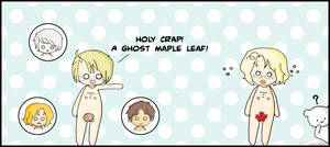 APH - Ghost Maple Leaf by camaleao