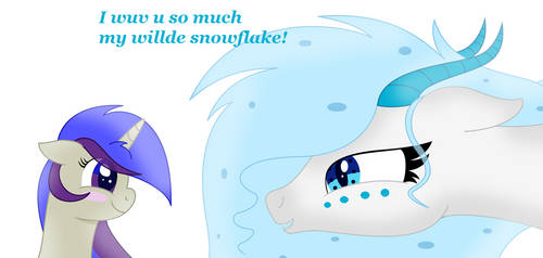 Contest Entry: Cryssi's willde snowflake by AtomSparkes