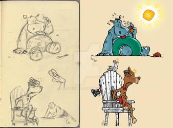 Summer sketches 1