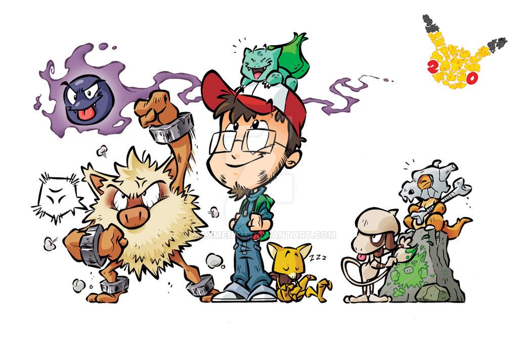 Pokemon 20th anniversary!!