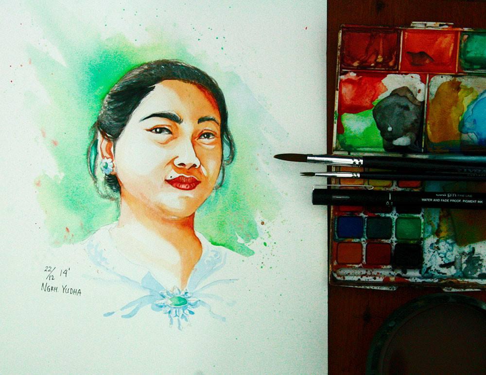My Mom by 124Hyudha