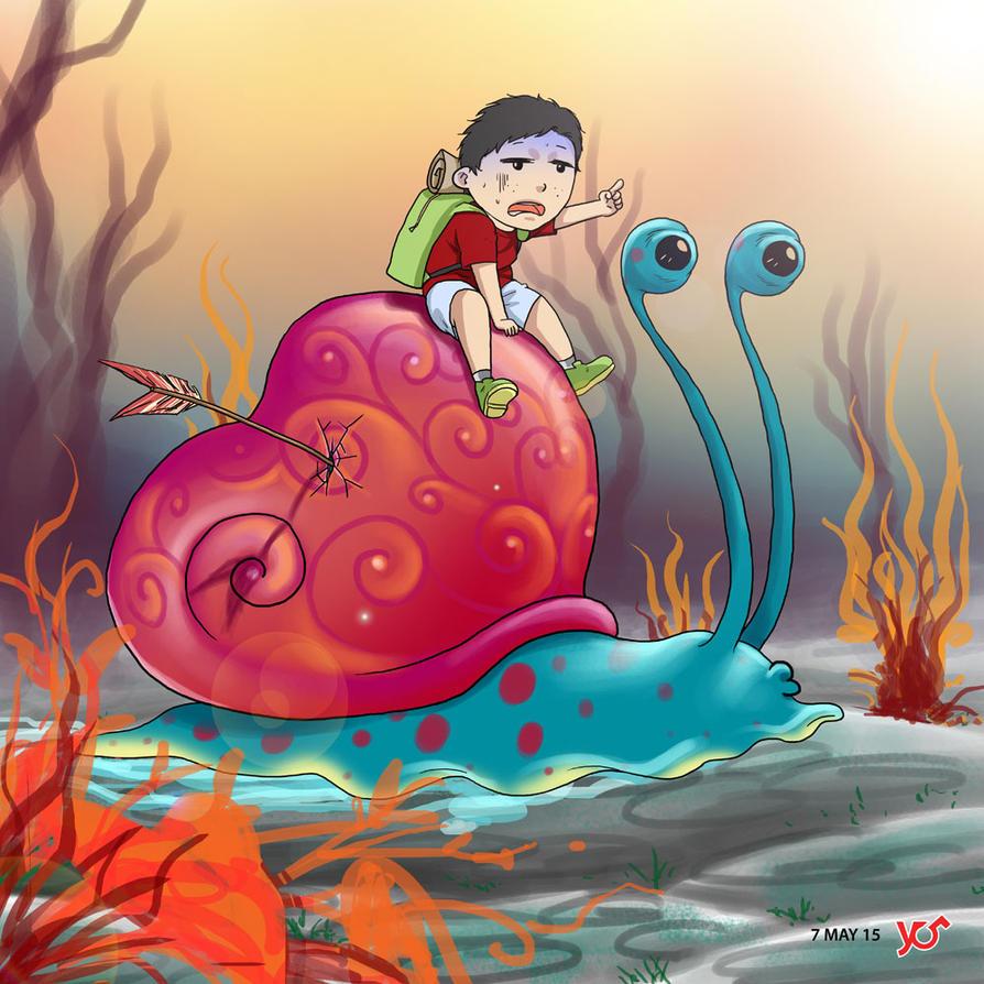 9th Adventure - Slowly by 124Hyudha