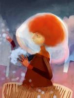 bubble_girl_ by gapinska