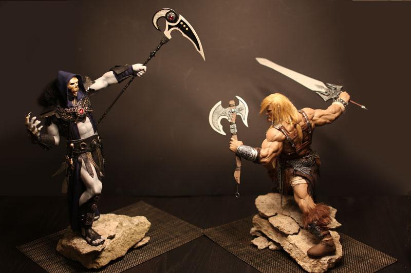 Skeletor-vs-Heman by EdgePang