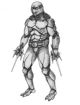 TMNT Concept Sketch Front