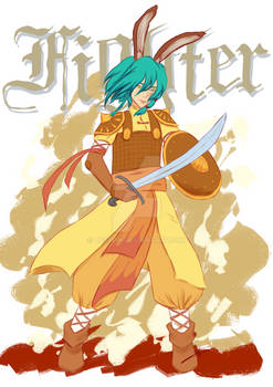 RPG Challenge #1: Abeliah, fighter