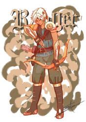 RPG Challenge #8: Tray, Ranger